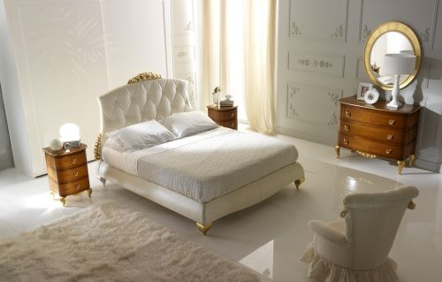 Спальня белая с орехом - Frast Marlene