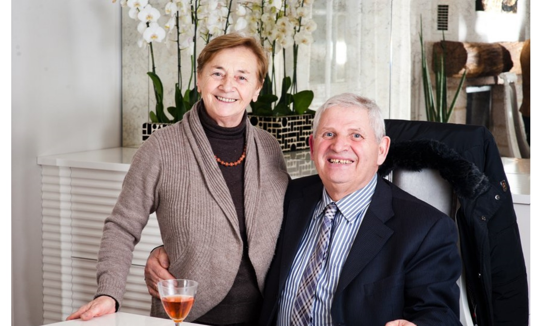 Франческо Молон с супругой Джулианой