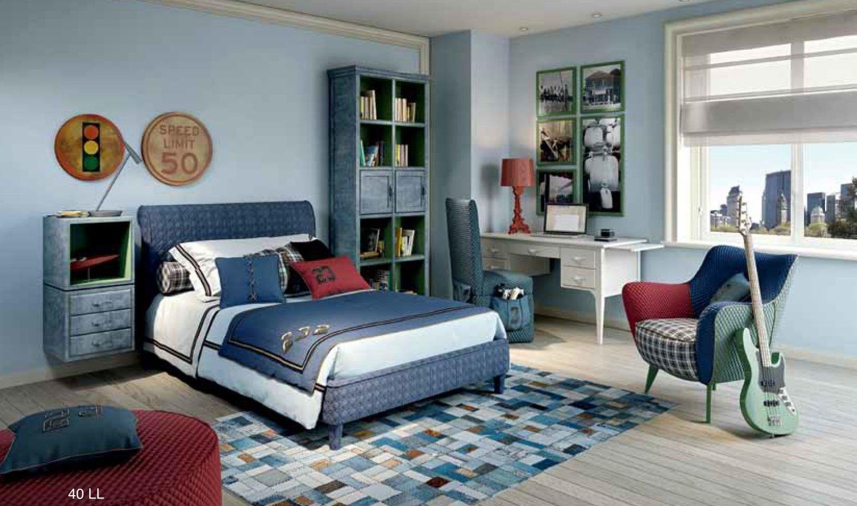 Подростковая комната в стиле арт деко