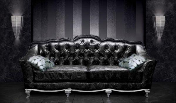 кожаная итальянская мебель
