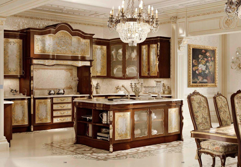 Оформления кухни в стиле классик
