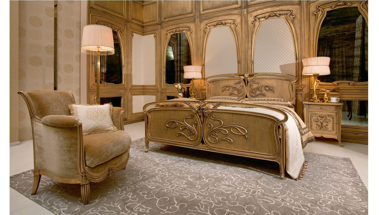 Спальня сусальное золото