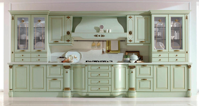 Классически интерьер кухни