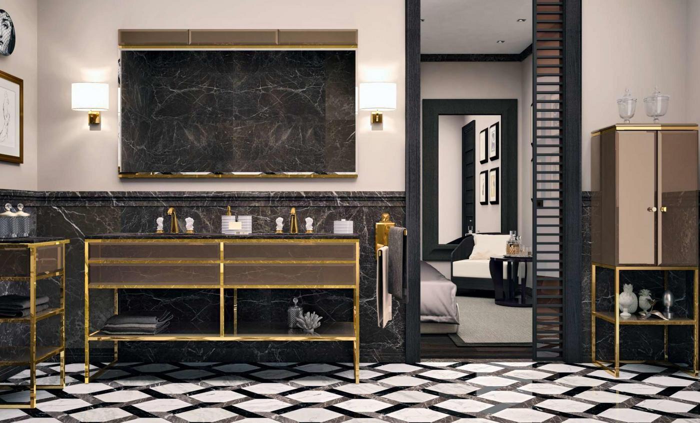 Мебель для ванной элитная фото