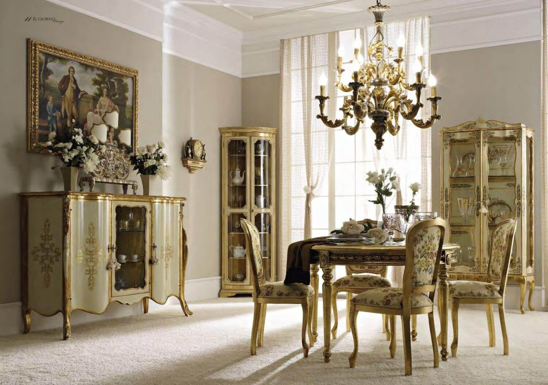 Черты классического стиля в гостиной