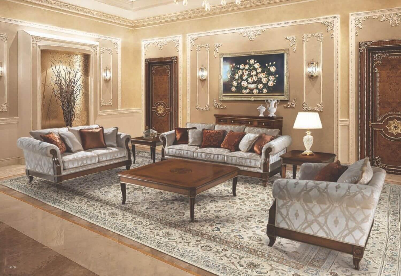 Современный классический интерьер квартиры