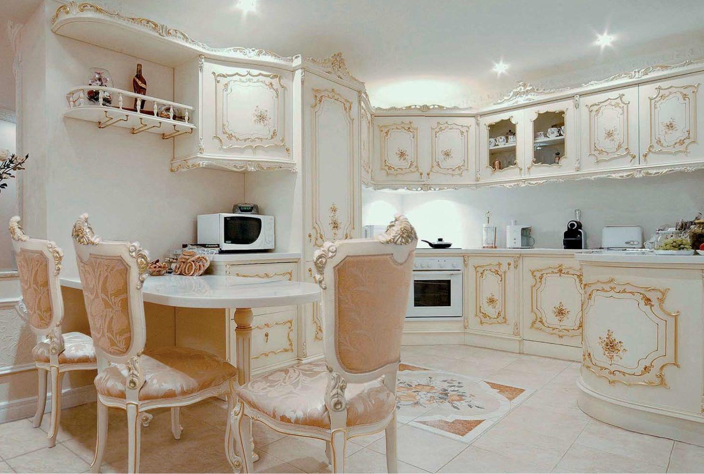 Кухонный дизайн - классический стиль