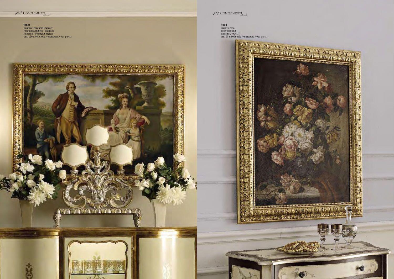 Живописные картины в классическом интерьере