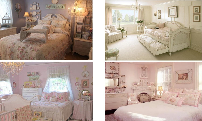 Розовые спальни