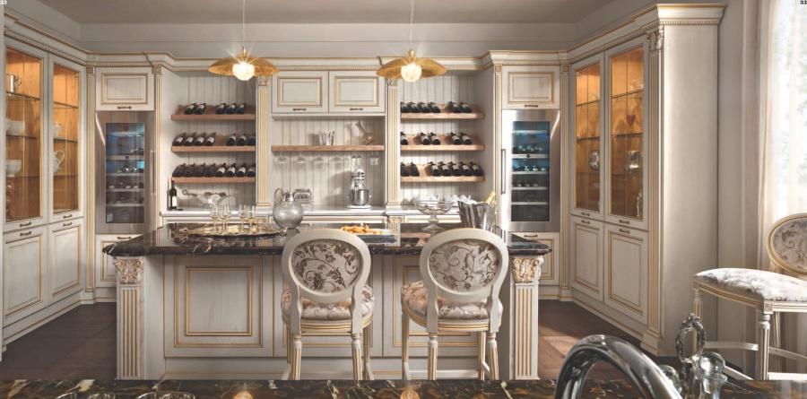Итальянская кухня классика модель Kitchens - FM Bottega d Arte