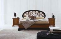 Кровать с круглым резным изголовьем - Dall'Agnese La Scala