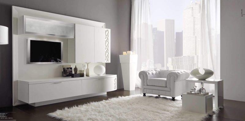 для ТВ в гостиную - цвет белый Signorini Coco Contemporaneo