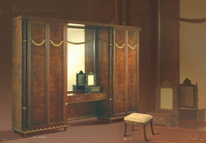 Шкаф с трюмо классика - коллекция Napoleon - Mida