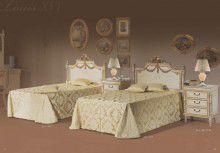 Односпальная кровать - слоновая кость - Camere da letto - Mida