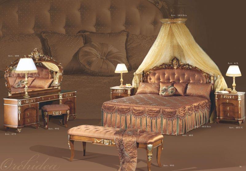 Комплект спальной мебели - коллекция Orchidea - Mida