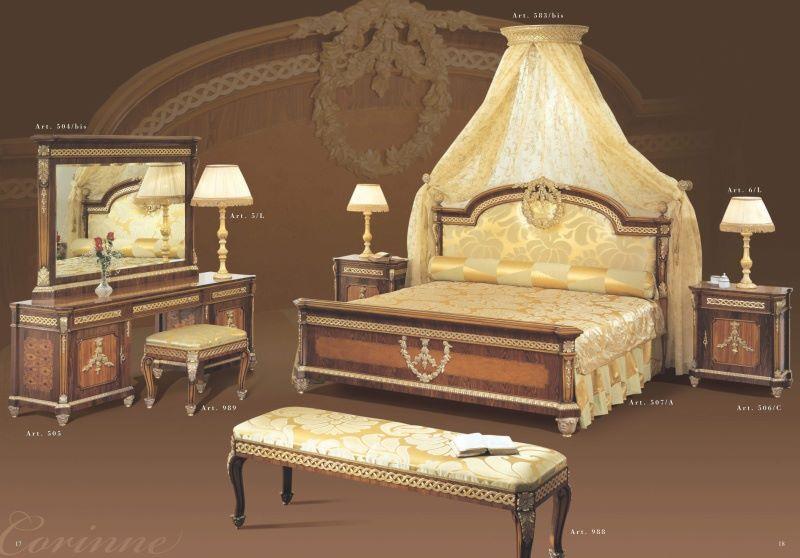 Мебель для спальни - коллекция Corinne - Mida