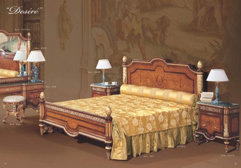 Кровать 2х местная - классика - коллекция Desire - Mida