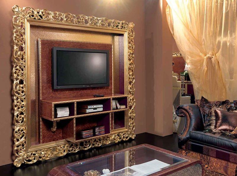 Рама для ТВ - отделка золото Mida Cabiate Gold