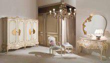 Шкаф в десткую - бежевый с золотом Mida Romantic Emotion