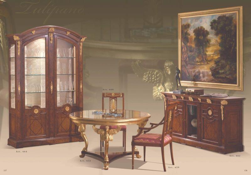 Столовая мебель классика модель Sale da Pranzo фабрика Mida