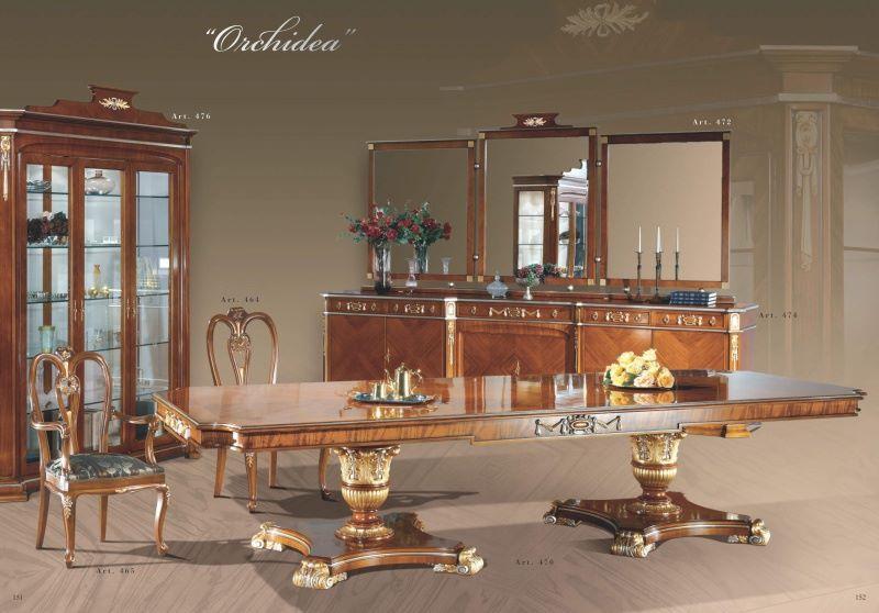 Элитная столовая из массива модель Sale da Pranzo - Mida