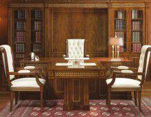 Стол руководителя для кабинета - Ofifran Art & Lux