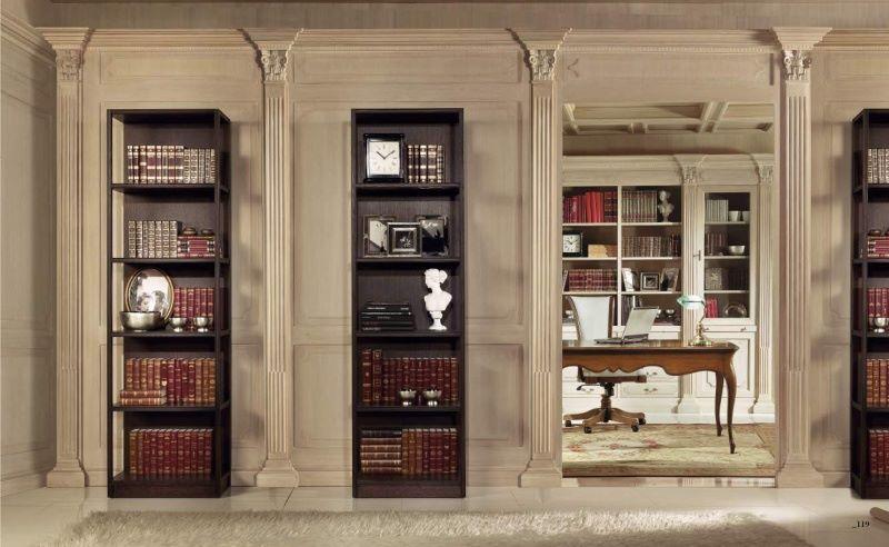 витрины и книжные полки