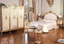 Кровать в обивке капитоне Andrea Fanfani - Bedrooms