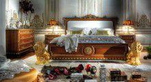 Мебель для спальня массив - декор золотые львы Asnaghi Interiors Lion