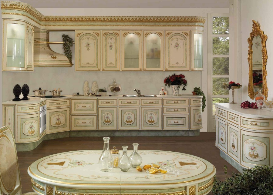 Кухня барокко - Asnaghi Interiors Kitchen