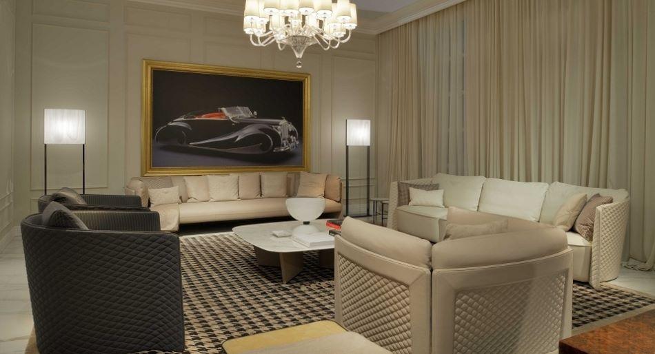 Бентли - мебель от итальянских дизайнеров