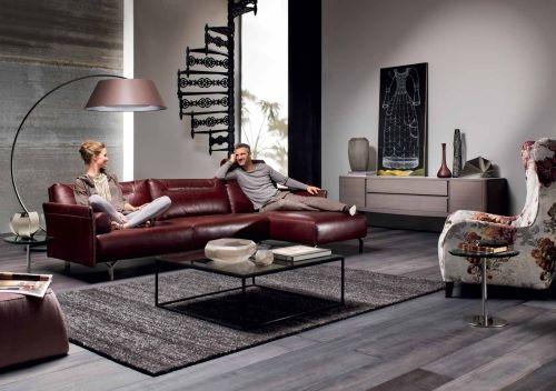 Стильный диван от фабрики Natuzzi