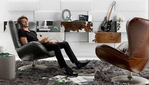 Кресло с портом под Ipod - Natuzzi