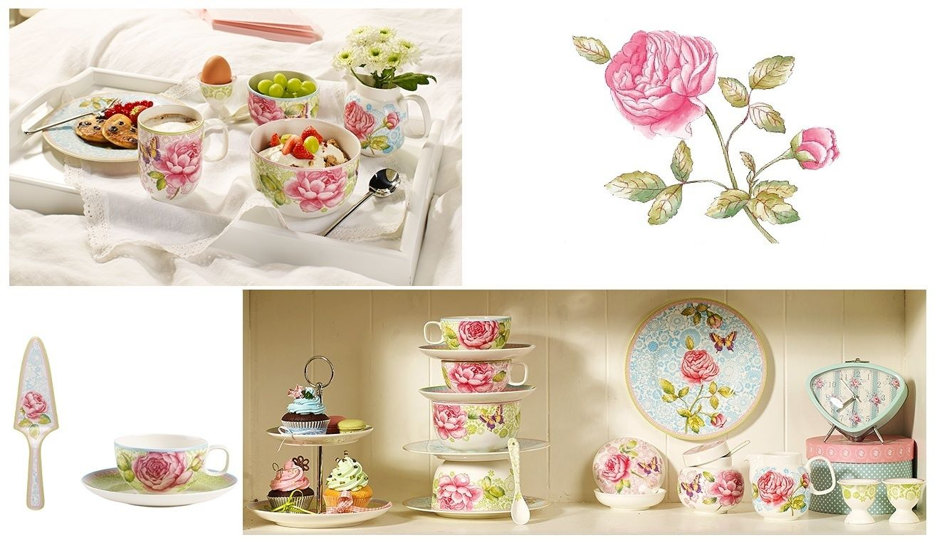 Villeroy & Boch Rose Cottage посуда