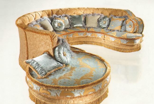 Итальянский диван полукруглый bm style