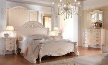 Мебель для спальни - бежевая с патиной - Barnini Oseo Prestige