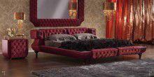 Кровать в коже - стиль модерн - Bastex Desiderio