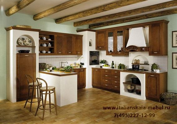 Кухня в стиле кантри : Кухни - Элитная.