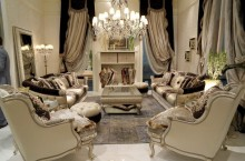 Светлая мягкая мебель Bruno Zampa - Classico 1