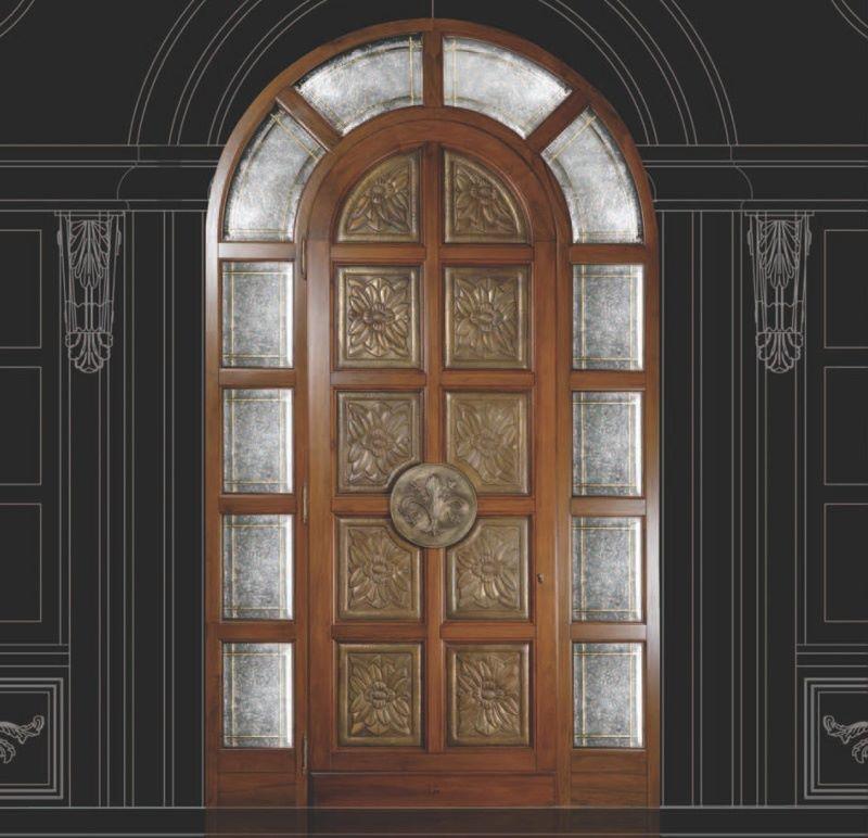 входные двери классика дерево металл