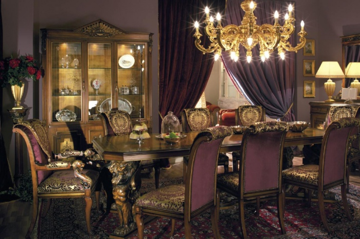 Итальянская столовая мебель asnaghi interiors