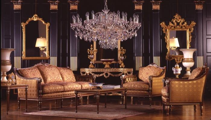 Классическая мягкая мебель zanaboni 006 c